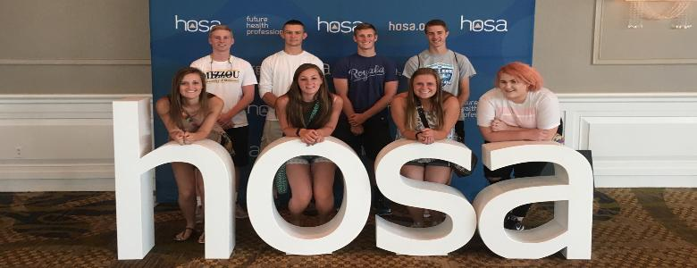 Students Compete at Annual HOSA Event